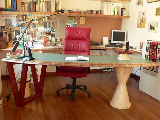Tavolo Da Lavoro Per Webmaster : Falegnameria artigianale crocicchio tavoli da studio
